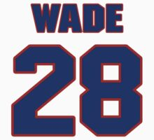 National baseball player Ben Wade jersey 28 by imsport