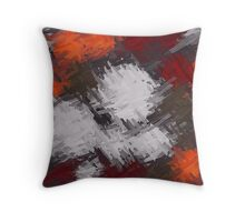 Colorful Painting Abstract Background #9 Throw Pillow