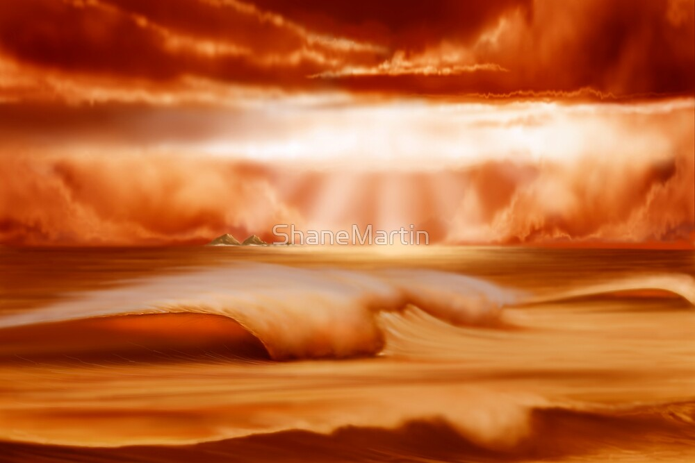 Julian Rocks-Byron Bay by ShaneMartin