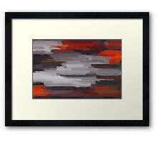 Colorful Painting Abstract Background #10 Framed Print