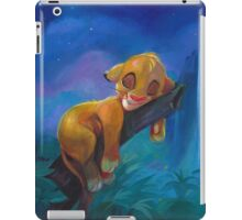 The Lion Sleeps Tonight iPad Case/Skin