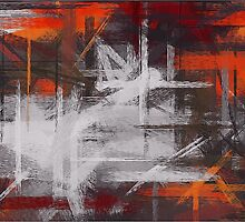 Painting Abstract Background by Nhan Ngo