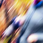 Photographer in Blur by Peter Evans