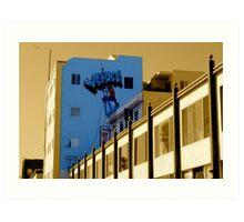 Venice Climber! Art Print