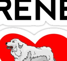 Great Pyrenees Dad Sticker