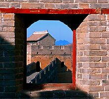 Great Wall of China. by bulljup