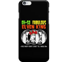 That Oh-So Fabulous Elvenking Thranduil iPhone Case/Skin