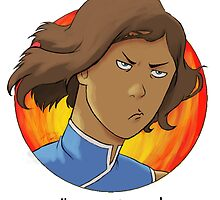 Korra is Not Amused by a5htag