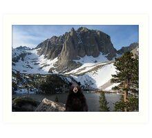 819-Wild Lord Art Print
