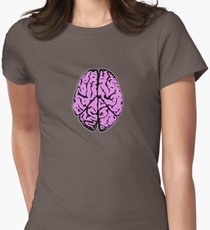 Peace of Mind...should always be spelt with 'ea' not 'ie'. Womens Fitted T-Shirt