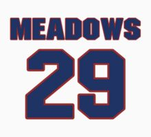 National baseball player Louie Meadows jersey 29 by imsport