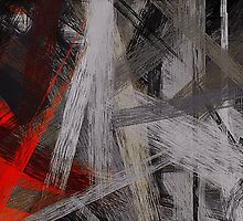 Painting Abstract Background #3 by Nhan Ngo