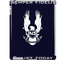 Enlist today iPad Case/Skin