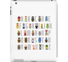 Muppet Alphabet iPad Case/Skin