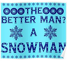 Snowman - The Best Man Poster