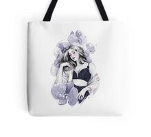 Midnight Orchid Tote Bag