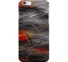 Painting Abstract Background #4 iPhone Case/Skin