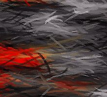 Painting Abstract Background #4 by Nhan Ngo