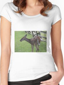Blue Ridge Doe Women's Fitted Scoop T-Shirt