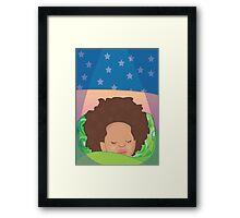 Goodnight Aria Framed Print