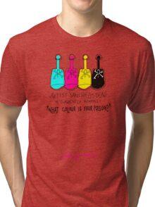 'What Colour is Your Poison' Tri-blend T-Shirt