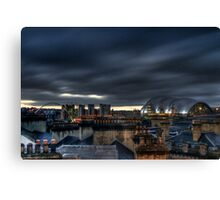 Over the Chimney Pots Canvas Print