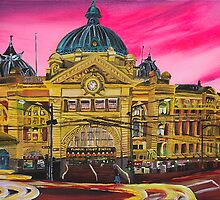 Flinders Street Station by Kim Donald