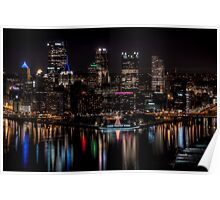 Reflections of Pittsburgh Poster