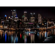Reflections of Pittsburgh Photographic Print