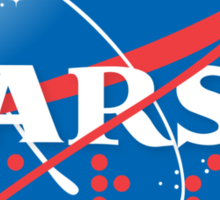 TARS NASA logo shirt mug iPhone 6 iPad Case pillow sticker Sticker