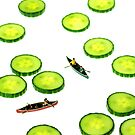 Boating Among Cucumber Slices by Paul Ge