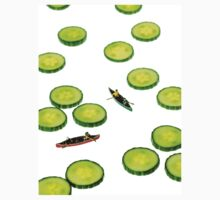 Boating Among Cucumber Slices T-Shirt