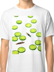 Boating Among Cucumber Slices Classic T-Shirt