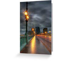 The Tyne Bridge Greeting Card