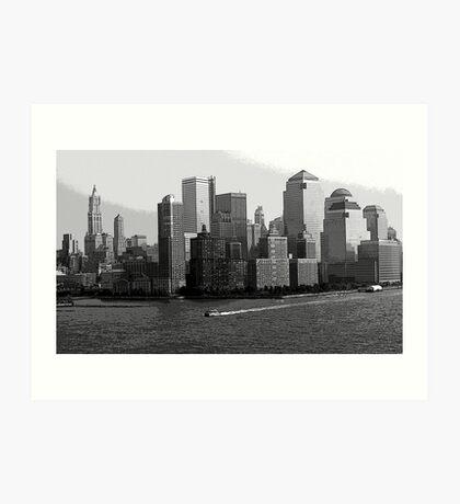 New York City Scape Art Print