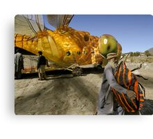 Dragonlarvae Beetlefly lands the precious payload ahead of schedule Canvas Print
