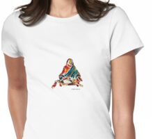 The First Supper, detail Womens Fitted T-Shirt