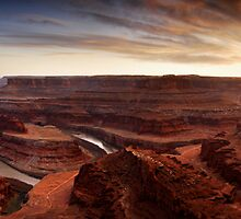Dead Horse Point Panorama by Nolan Nitschke