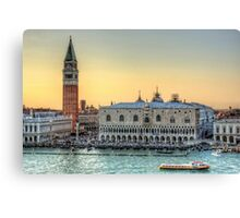 Early Evening Light in Piazza San Marco Canvas Print