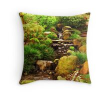 Steps of Water Throw Pillow
