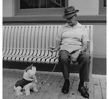 Man's Best Friend Photographic Print