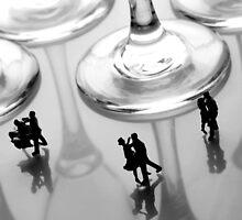 Dancing Among Glass Cups by Paul Ge