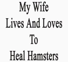 My Wife Lives And Loves To Heal Hamsters  by supernova23