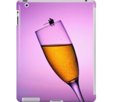 Fishing On A Cup Of Champange iPad Case/Skin