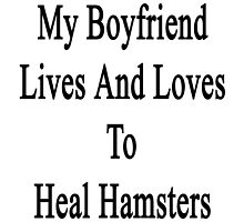 My Boyfriend Lives And Loves To Heal Hamsters  by supernova23