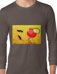 Boating Around A Red Cup Long Sleeve T-Shirt