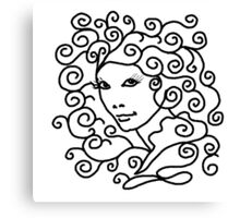 Miss Lily Medusa Canvas Print