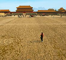 Taihe Square, Forbidden City, China. by bulljup