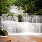 Terrace Falls, Hazelbrook NSW by Andrew Bosman
