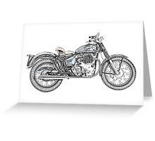 1967 Royal Enfield Interceptor 750 Motorcycle Greeting Card